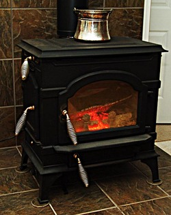 Stoves woodstoves canada for Poele a bois vermont casting